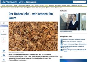 Die Presse.com - Gartenkralle/Ute Woltron, 03.01.2015