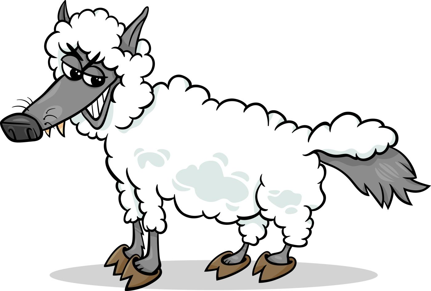 der Wolf im Schafspelz